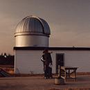 Atelier «une soirée sous les étoiles» à l'observatoire de Glenlea – le 4 mars 1994