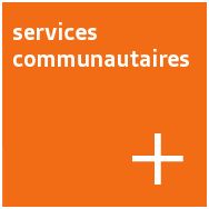 Bouton - services communautaires