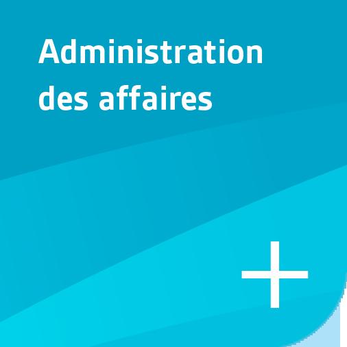 Bouton - administration des affaires