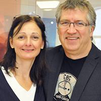 Carole Freynet-Gagné et Jean-Paul Gagné