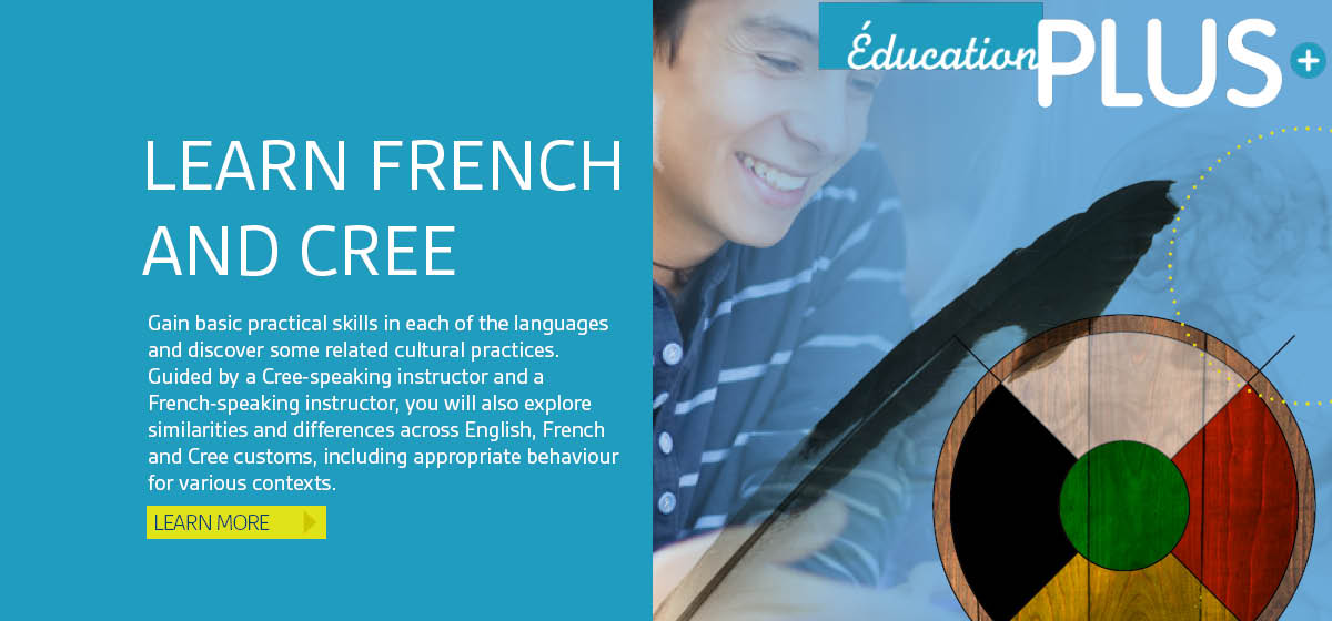 Learn French and Cree
