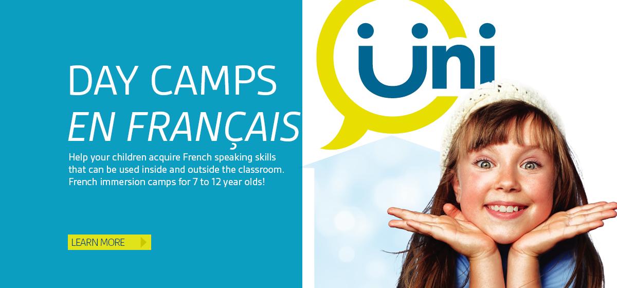 Day Camps en français!