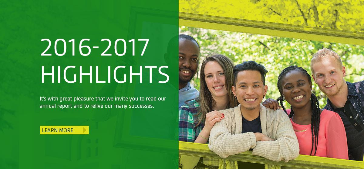 Highlights: 2016-2017 Highlights