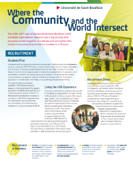Annual Report: Where The Community And The World Intersect