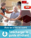 Guide étudiant - Aide en soins de santé