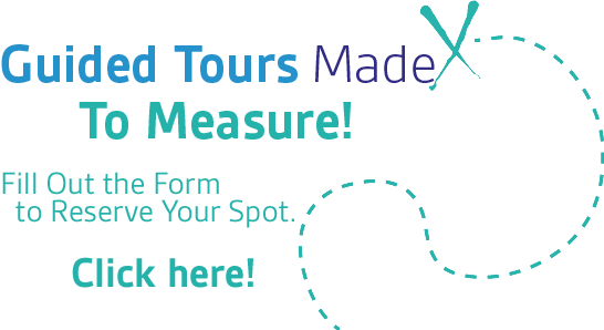 Guided Tours Made To Measure!