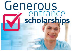Generous Entrance Scholarships