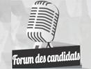 Forum des candidats