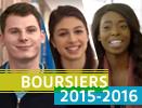 Boursiers 2015-2016