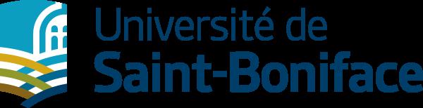 Université de Saint-Boniface logo.