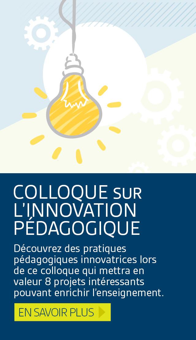 Colloque sur l'innovation pédagogique