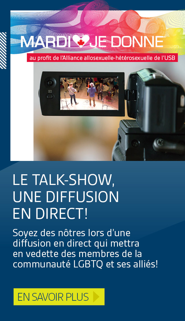 Le Talk-Show, une diffusion en direct!