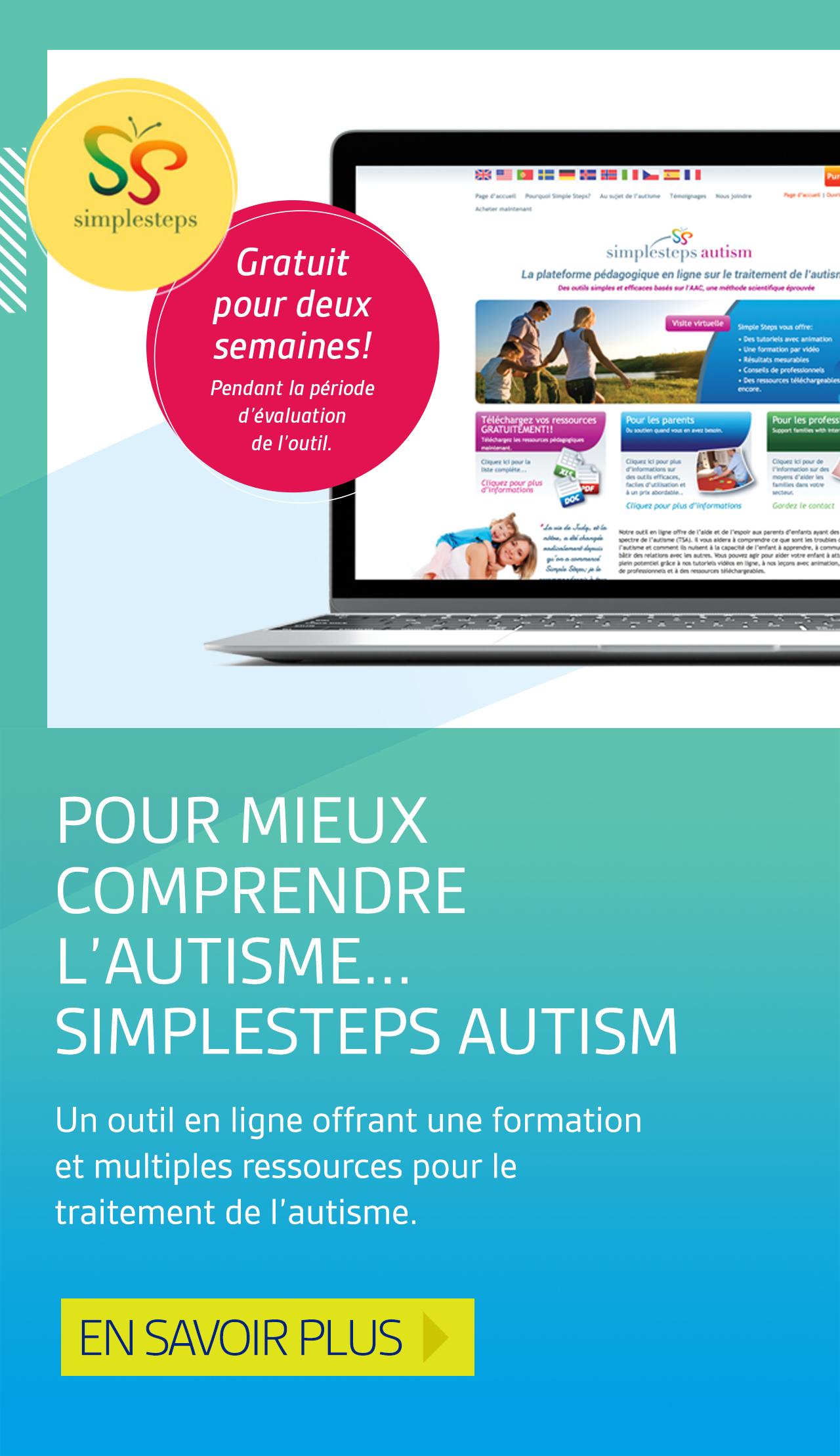 Pour mieux comprendre l'autisme... Simple Steps Autism
