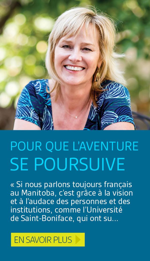 Pour que l'aventure francophone se poursuive