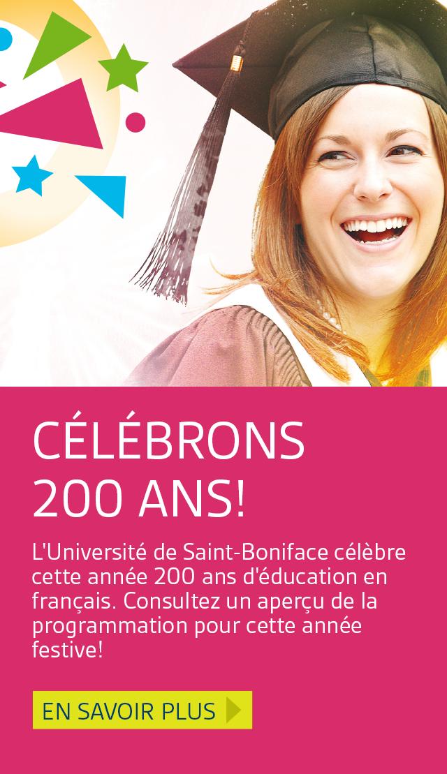 En vedette : Célébrons 200 ans!