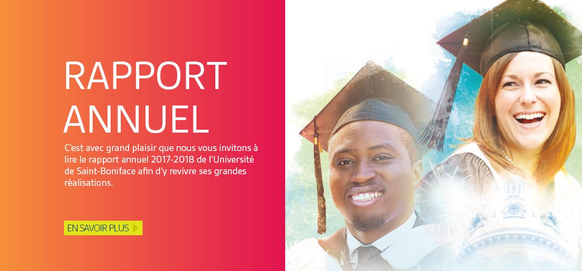 Rapport annuel : L'USB fête 200 ans d'éducation en français au Manitoba!