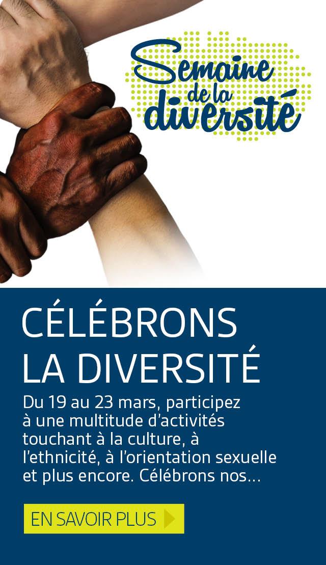 Célébrons la diversité