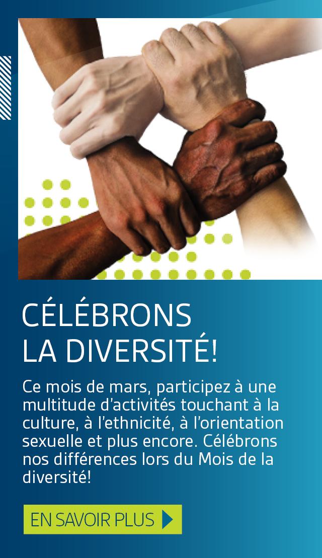 Célébrons la diversité!