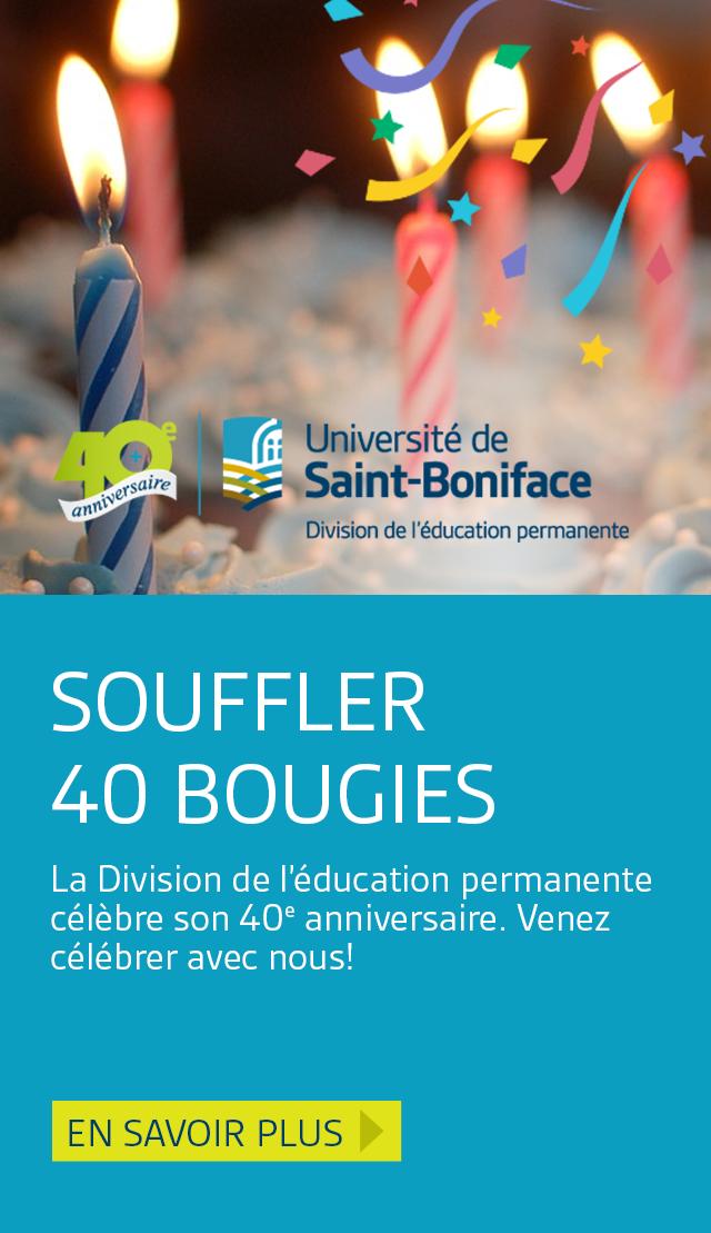 En vedette : Souffler 40 bougies