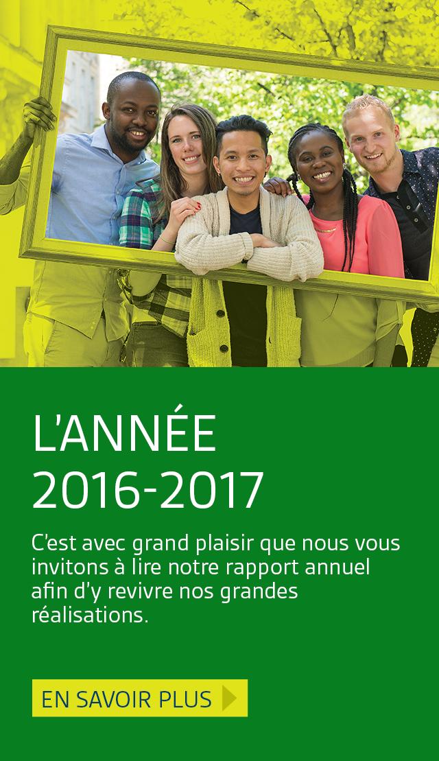 En vedette : L'année 2016-2017