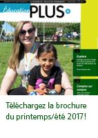 Brochure printemps 2017