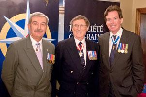 Kevin MacLeod, Denis St-Onge et John Geigner