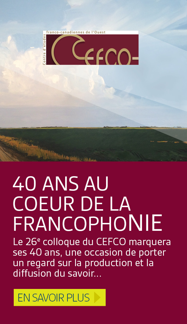 26e colloque du CEFCO