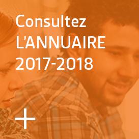 Consultez l'Annuaire 2017-18