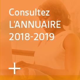 Consultez l'Annuaire 2018-2019