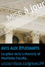 La grève de la University of Manitoba - Mise à jour