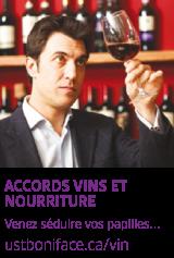 Accords vins et nourriture