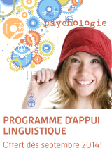 Programme d'appui linguistique offert en septembre 2014