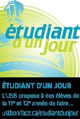 Étudiant d'un jour - ustboniface.ca/etudiantdunjour