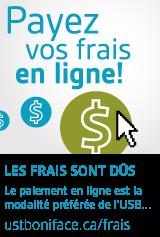 Payez vos frais en ligne