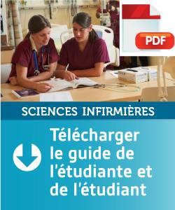Guide étudiant - Sciences infirmières