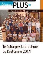 Téléchargez la brochure de l'automne 2017!