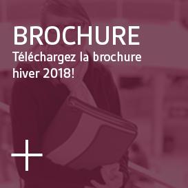 Brochure - Téléchargez la brochure hiver 2018