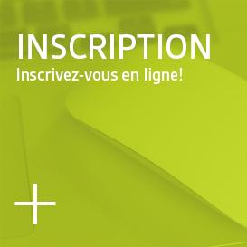 Inscription - Inscrivez-vous en ligne...