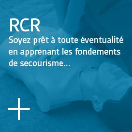 RCR - Soyez prêt à toute éventualité en apprenant les fondements de secourisme...