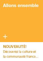 Allons ensemble - Nouveauté! Découvrez la culture et la communauté franco...