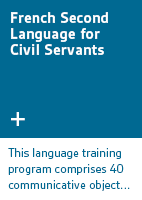 French Second Language for Civil Servants