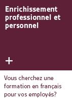 4. Enrichissement professionnel et personnel