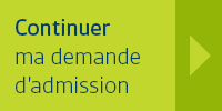 Continuer ma demande d'admission