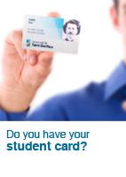 Do you have your student card?