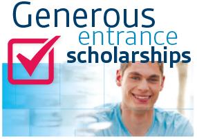Generous Entrance Scholarships