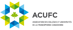 Logo | ACUFC. Association des collèges et universités de la francophonie canadienne.