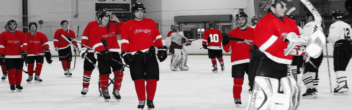 Les Rouges - hockey