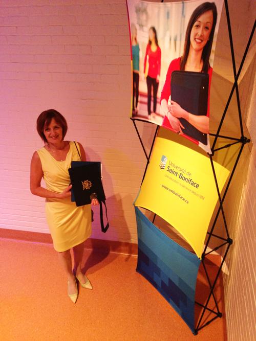 Michelle Gervais_diplôme honorifique
