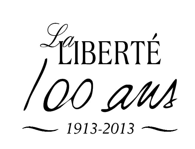 Logo du 100e de La Liberté