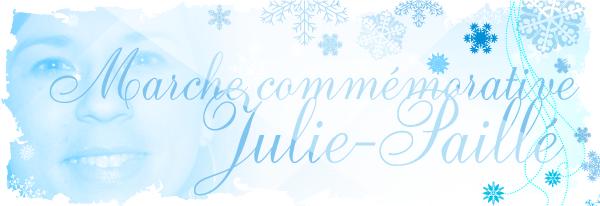 Marche commémorative Julie-Paillé
